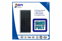 150w poly solar PV modules to Pakistan and UAE