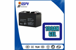 100AH 12V GEL SOLAR BATTERY
